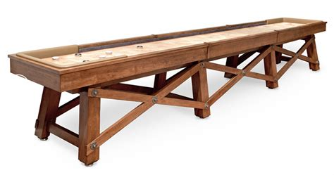 what is a regulation shuffleboard table length what is the official shuffleboard table length