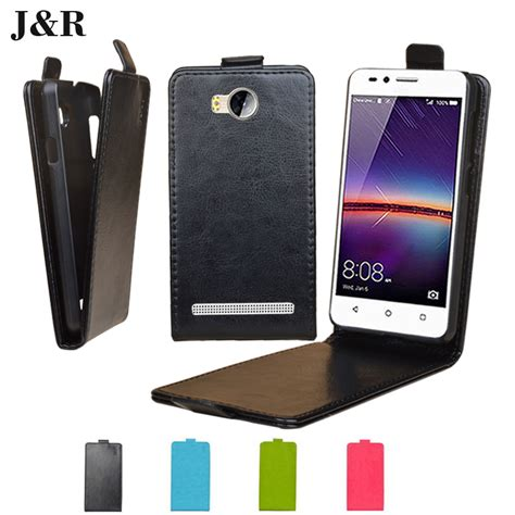 leather for huawei y3 ii flip cover for huawei y3ii phone cases for huawei ascend y3 ii