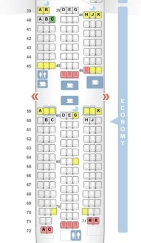 cathay pacific seat map seating plan boeing 777 300er cathay pacific