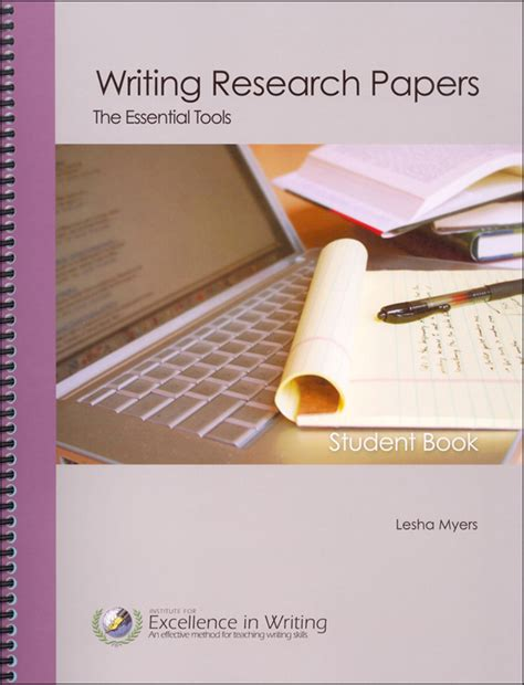 Tools For Writing A Research Paper by Writing Research Papers Essential Tools Student Book Only 051641 Details Rainbow Resource