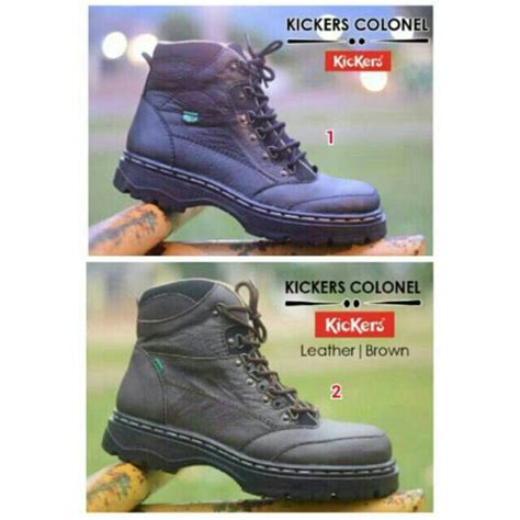 Sepatu Kickers Murah Safety Boots 174 best sepatu boots pria kickers images on