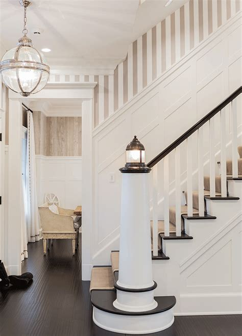 banister lights classic family home with coastal interiors home bunch