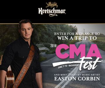 Sweepstakes Instant Win - freebies kretschmar country 2018 cma fest sweepstakes and