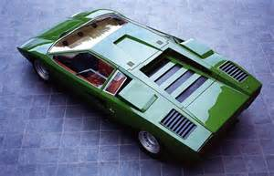 Green Lamborghini Countach Classic And Collector Cars At Autodrome Cannes