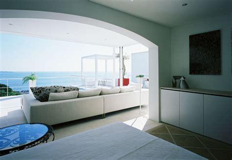 Black Kitchen Design Beautiful House Overlooking The Ocean