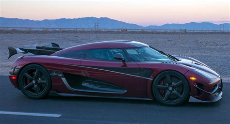 koenigsegg street koenigseggg agera rs clocks a potentially record breaking