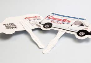 custom shape fans brand printing indianapolis custom printing services
