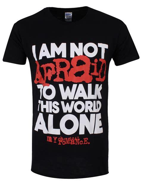 T Shirt Mcr my chemical i m not afraid s slim fit t shirt
