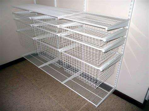 wire closet shelving parts closet organization cheap