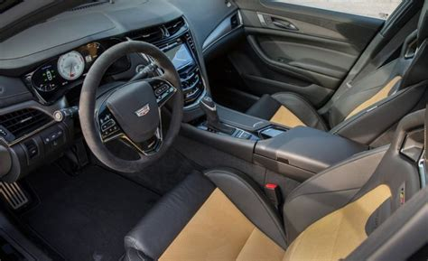 Cadillac Cts V Interior by 2018 Cadillac Cts V Review Coupe Sedan Price Msrp