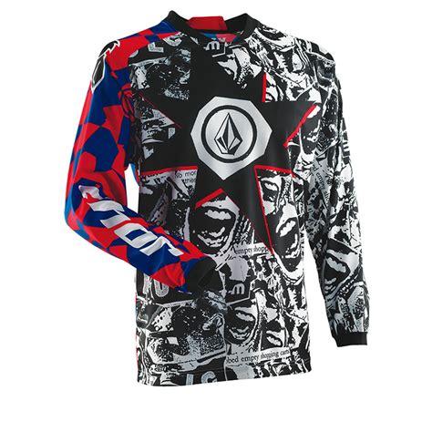 volcom motocross gear thor phase s14 youth volcom paradox motocross jersey
