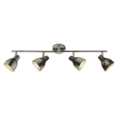 spotlight bar with 4 adjustable spotlights for kitchen