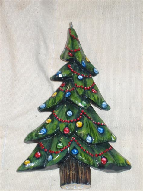 painted hand christmas trees out of the woodwork gallary services