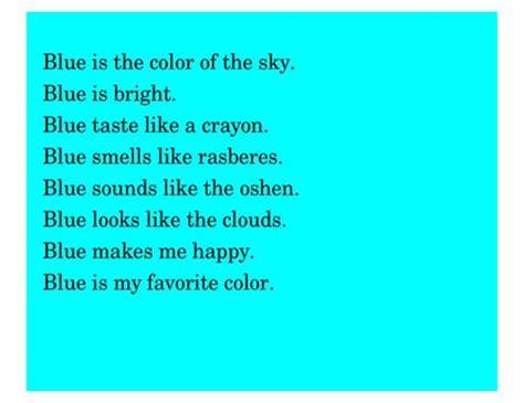 rambling rams color poems