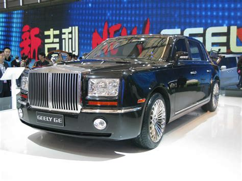 roll royce chinese new geely ge limo is rolls royce phantom clone it s