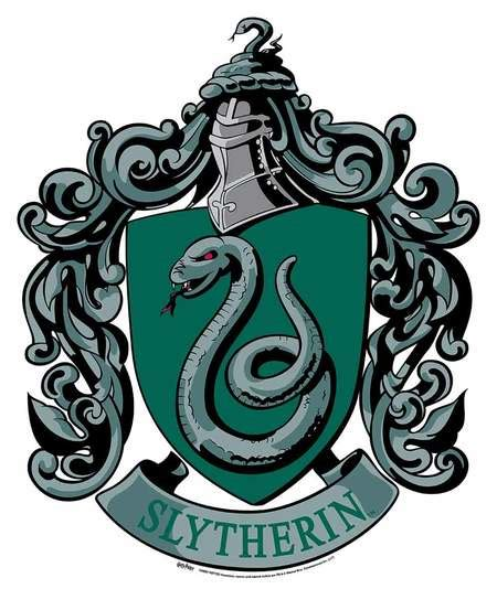Musical Wall Stickers slytherin crest from harry potter wall mounted official