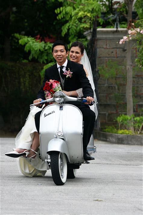 Wedding Vespa by Wedding Cabaret Theme A Vespa Wedding