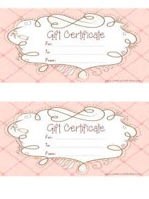 customizable gift certificate template free printable gift certificates health symptoms and