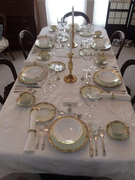 formal table setting party ideas   table table