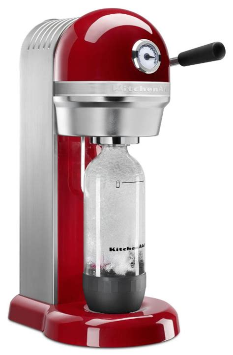 s day maker kitchenaid collaborates with sodastream on sparkling