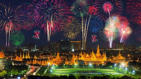 new year 2016 bangkok program new years fireworks in bangkok 2016