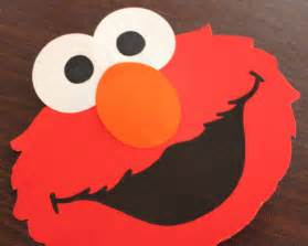 Elmo Cut Out Template by Elmo Pop Up Card Repeat Crafter Me