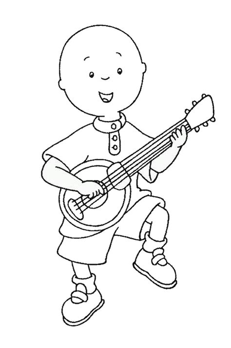 free printable coloring pages printable caillou coloring pages coloring me