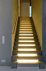 Stair Case Illuminated Staircase Adds Even More Awesomeness To