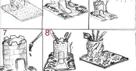 Kotak Tempat Perhiasan Isi Dua Puluh tutorial membuat tempat pensil dari bubur kertas energic