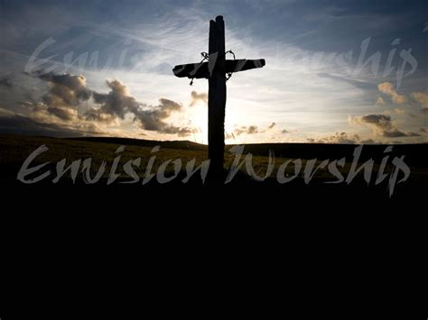 rugged cross church rugged cross church powerpoint contemporary with depth