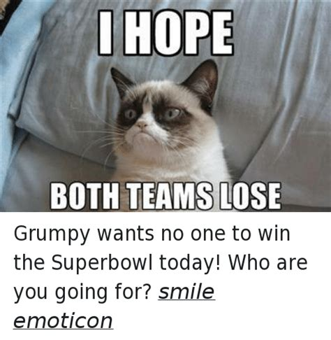you re going grumpy history i both teams lose grumpy wants no one to win the