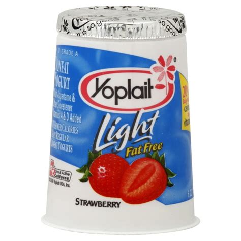 Yoplait Light Yogurt Strawberry Free