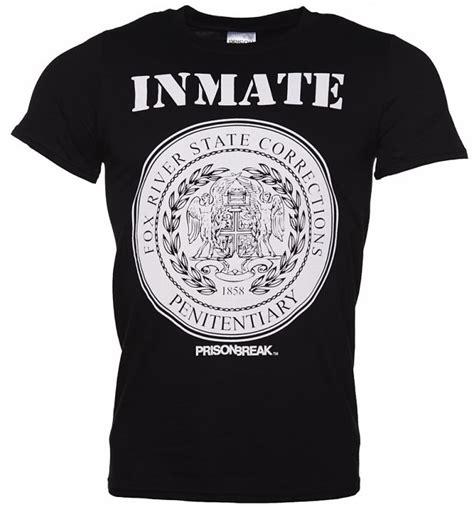 Tshirt Berak Black C M065 s black prison fox river inmate t shirt