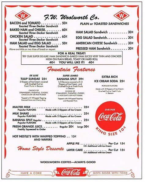 50s diner menu template 50s diner menu template templates resume exles