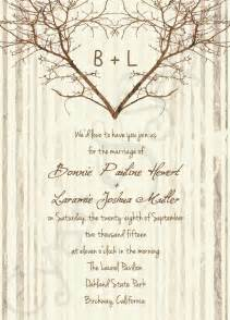 rustic wedding invitations templates wedding invitation wording printable rustic wedding