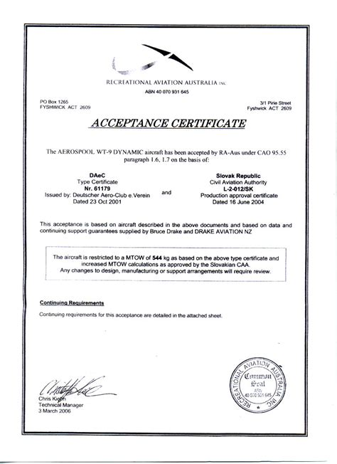acceptance certificate template 28 images 28