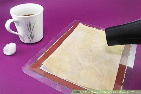 how to make parchment paper for writing how to make parchment like paper for writing 8 steps