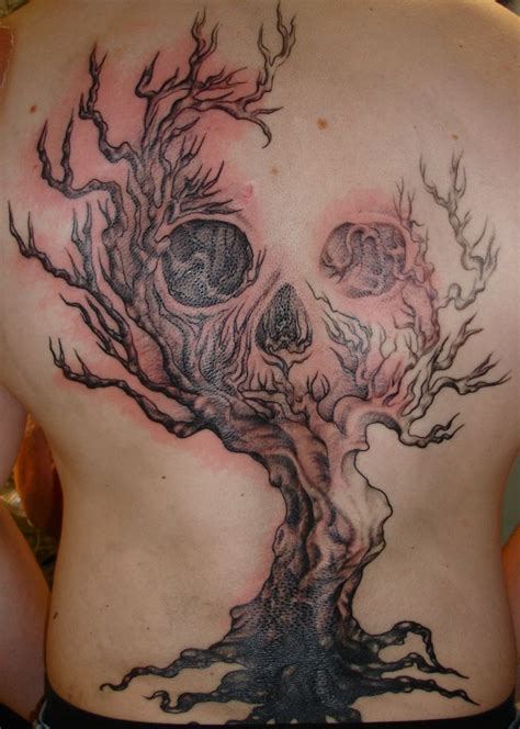 tattoo body art tree of life with skull tree life tattoo pinterest