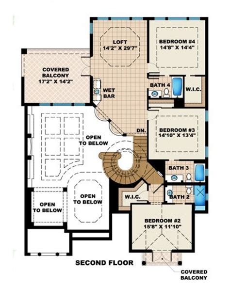 riad style home plans home plan