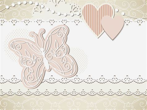 wedding card ppt templates free wedding backgrounds brown design templates
