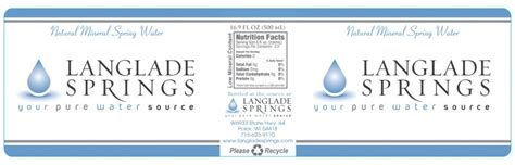 mineral water label template water bottle labels water bottles as favors