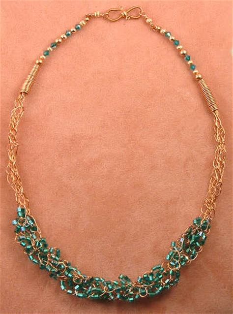 how to make wire crochet jewelry wire crochet how to make jewelry now