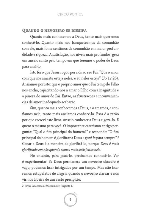 Cinco Pontos - John Piper by Editora Fiel - Issuu