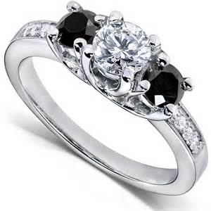 white and black engagement rings black and white engagement rings black ring