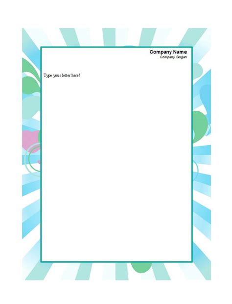 45 free letterhead templates exles company