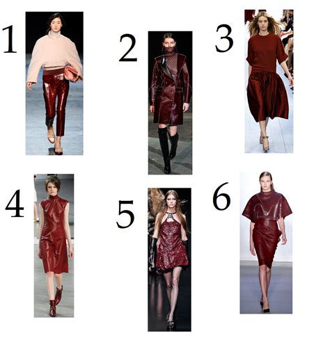 fall 2012 color trends fashionising faddy butter fall 2012 runway color trend crimson