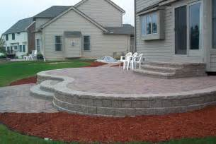 How To Build A Patio Deck With Pavers How To Build A Raised Concrete Patio Home Design Ideas