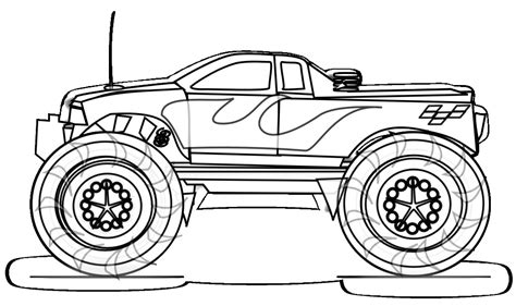 The Big Monster Trucks Coloring Pages Gianfreda Net Blaze Truck Boy Coloring Page