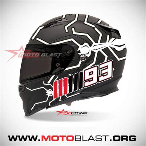 Stiker Visor Helm Sticker Murah Cocok Untuk Hjc Shoei Agv Arai Dll desain inspirasi helmet fullface ant mm93