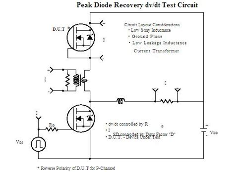 diode recovery time test circuit 28 images diode trr